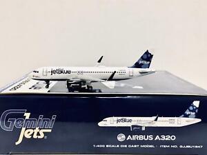 Gemin Jets 1:400 JetBlue AIRBUS A320 N834JB GJJBU1547
