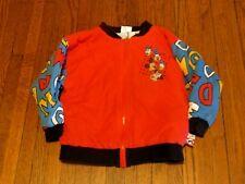 Boys' VTG Walt Disney Mickey Mouse Bomber Jacket Toddler sz 2/4