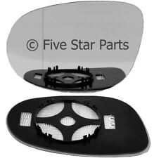Left passenger Wide Angle side wing mirror glass for Fiat Bravo 06-15 heat