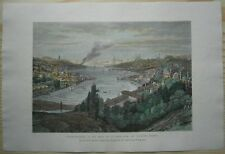 1875 Reclus print CONSTANTINOPLE ISTANBUL, TURKEY (#11)