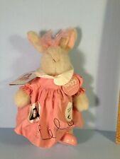 Muffy VanderBear SIGNATURE DRESS BUNNY Hoppy VanderHare w/ tag Easter!