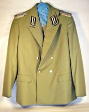 East German Germany Army Infantry Field Officer Major Gala Jacket NVA DDR GDR