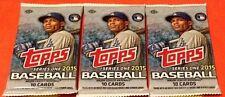 2015 Topps Series 1 Baseball Cards Hobby Pack