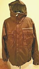 686 Authentic Snowboard Ski Insulated Jacket Men's Medium Brown M Hooded