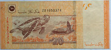 RM20 Zeti sign Replacement Note ZB 1850374