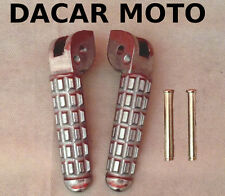 PEDALINE POGGIAPIEDI FOOTPEGS ANTERIORI DUCATI MONSTER 600 DARK CITY 1999 1104