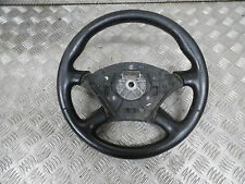 FORD FOCUS MK1 2001 3 DR. 4 SPOKE STEERING WHEEL IN BLACK