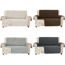 Newest Anti-Slip Loveseat Cover for Leather Sofa Couch Slipcover Slip-Resistant