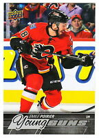 2015-16 Upper Deck OVERSIZED #210 EMILE POIRIER RC Rookie Young Guns Flames