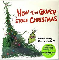 How The Grinch Stole How The Grinch Stole Christmas Green Vinyl LP Record Album
