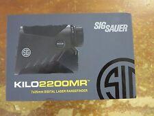 Sig Optics SOK22701 Kilo2200MR Range Finder Reticle 7x25mm Monocular Graphite