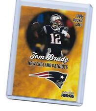 2000 GOLD TOM BRADY ROOKIE RC CARD NEW ENGLAND PATRIOTS SUPER STAR HOT