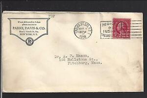 WARWICK ST.STA., NEW YORK 1930 ADVT DRUG CO. PARKE,DAVIS & CO.