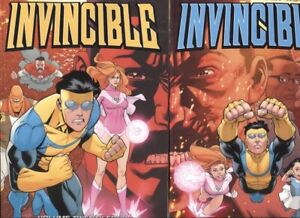 INVINCIBLE TPB VOLME 24 & 25 SET / REPS #133-144 / END OF STORY