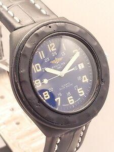 Breitling Colt Military 80210 Service Echtheitszertifikat Glas Armband neu