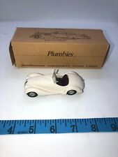 1:43 PLUMBIES 1938 BMW 328 Fraser Nash Box W Germany Handmade White Metal Rare