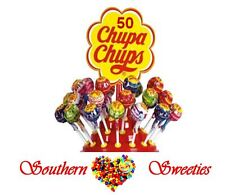 50 Chupa Chups Lollipops Candy Sweets lollypops Lollies Assorted fruity flavors
