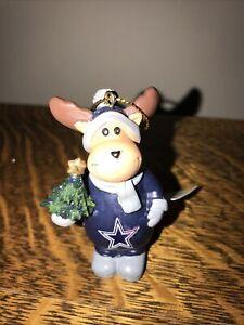 BRAND NEW DALLAS COWBOYS TEAM NFL MOOSE ORNAMENT.