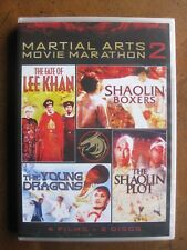 MARTIAL ARTS MOVIE MARATHON: Vol. 2  (4-Film, 2-DVD Set) SHOUT FACTORY - NEW!!!
