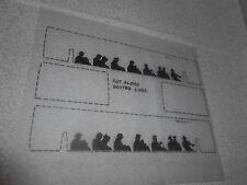 60-51/52 TROLLEY SIDE WINDOWS w/SILHOUETTES & END WINDOWS. LIONEL #60 TROLLEY