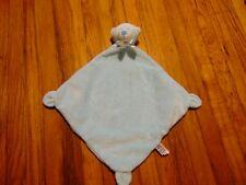 HTF Baby Ganz blue bear security blanket