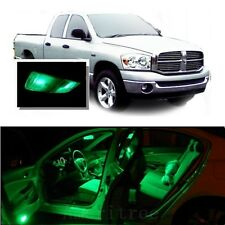 For Dodge Ram 1500 2002-2008 Green LED Interior Kit + Green License Light LED