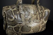 THE MOST GORGEOUS !!! BELSTAFF  SNAKESKIN LARGE   HAND BAG.MADE IN ENGLAND