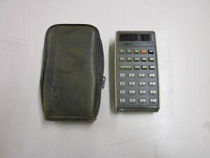 Hewlett-Packard Calculator HP 27 original 1976