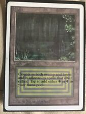 UNLIMITED BAYOU NM / Excellent Magic The Gathering Mtg Dual Land