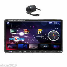 "7"" LCD Touch Screen 2 Din In Dash Car CD DVD Player Radio Stereo GPS Navigation"