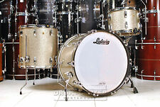 Ludwig Legacy Mahogany 3pc Super Classic Set Vintage Nickel Sparkle