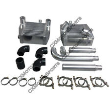 CX SM Intercooler Piping Kit For Mit. 3000GT VR4 Dodge Stealth TD04 Twin Turbo