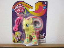PEQUEÑO LITTLE PONY FIM G4 RAINBOW POWER FLUTTERSHY NEON MIB MOC NIB NEW !