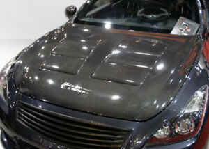 08-15 Fits Infiniti G Coupe 2DR GT Concept Duraflex Body Kit- Hood!!! 104661