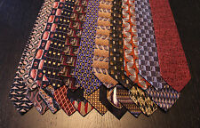 Lot of 20 NEW Designer Neck Ties with Various Patterns L035