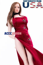 1/6 Ada Wong Resident Evil Cheongsam Dress Set For TBLeague Hot Toys Figure USA