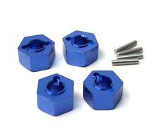 Racers Edge - Slash 4WD Aluminum Drive Hex Set (4) - Blue