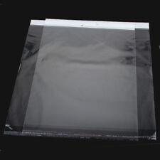 20 HOT Buste Bustine Plastica Confezioni Chiusura Adesiva Trasparente 36.5x30cm