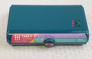 Caboodles Twilight Disco -Take It Touch Up Tote -TEAL SPARKLE Makeup Organizer