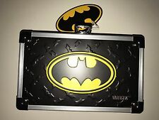 Vaultz Locking Pencil Box Batman Yellow LOGO DC Comics School Supplies NEW