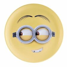 "Despicable Me Minion Dave Face 10"" Melamine Dinner Plate, New UNUSED"