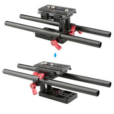 CAMVATE Quick Release Baseplate Mount for DSLR Camera Tripod Height Adjustable