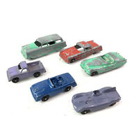 Lot of 6 TootsieToy 2 Sizes Vintage Die Cast Cars and Truck Made in USA