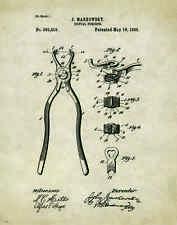 Dentist Patent Poster Art Print Vintage Dental Instruments Tools Chairs PAT179