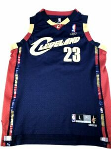 Cleveland Cavaliers CAVS LeBron James #23 Reebok Sewn Stitched Jersey Youth L