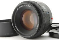 [NEAR MINT] MINOLTA AF 50mm f/1.4 NEW Lens for Sony A mount w/ Hood from JAPAN