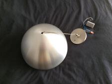 techlighting mini powell, pendant modern light, aluminum dome, white inside.