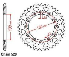 KR Kettenrad 51Z Teilung 520 HONDA XR 250 R 1982-1089 ... Rear sprocket