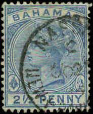 Bahamas Scott #28a Used