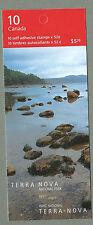 CANADA 2007 Booklet - TERRA NOVA National Park - 10 x 52c - Complete MNH